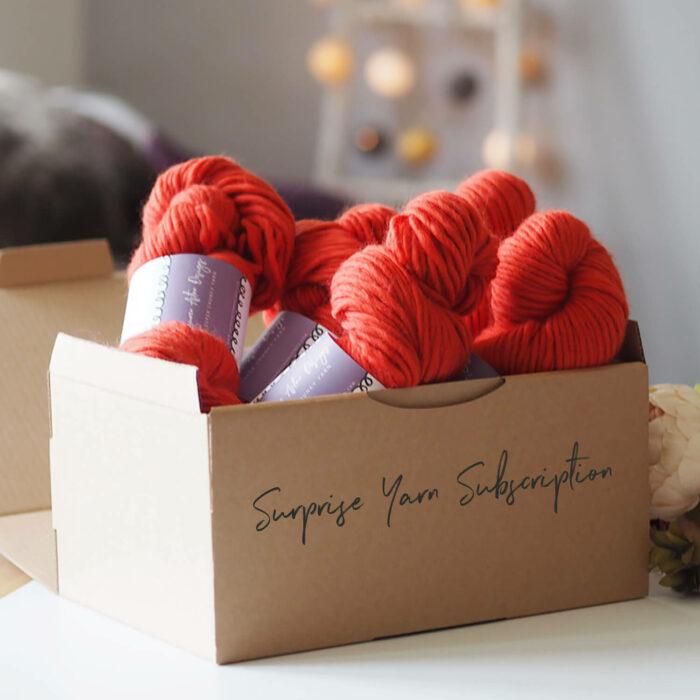 Surprise Yarn Subscription Box