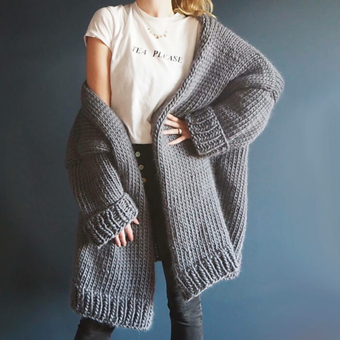 Commission Dreamy Oversized Cardigan