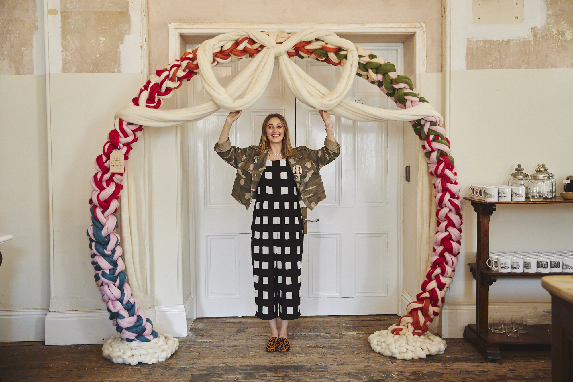 Photo by Sarah Brick who was photographing the event for Notonthehighstreet.com