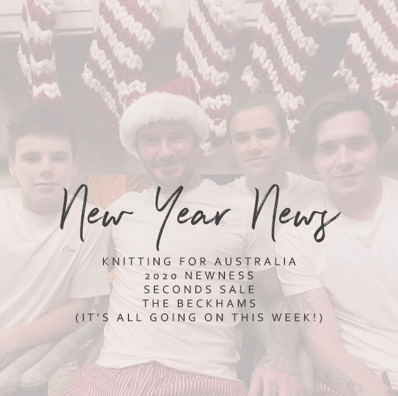 New Year News!