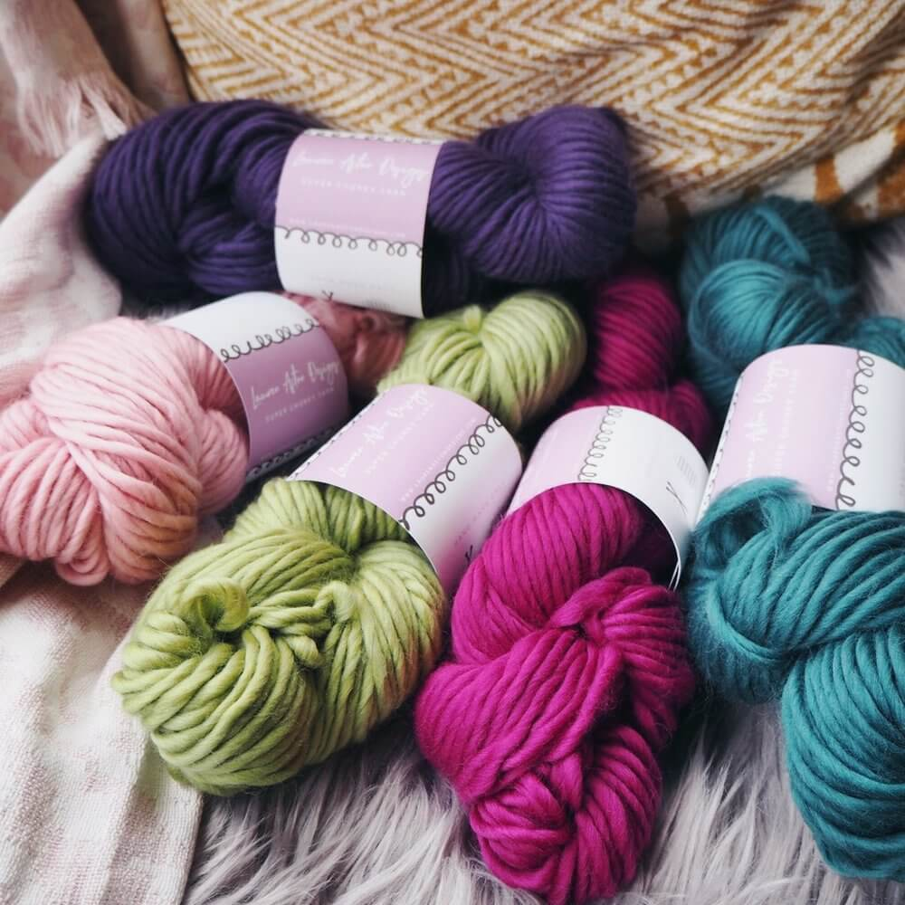 limited edition yarn bundle of 12