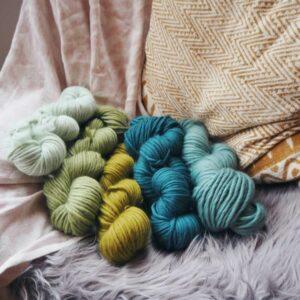 limited edition yarn bundle of 8