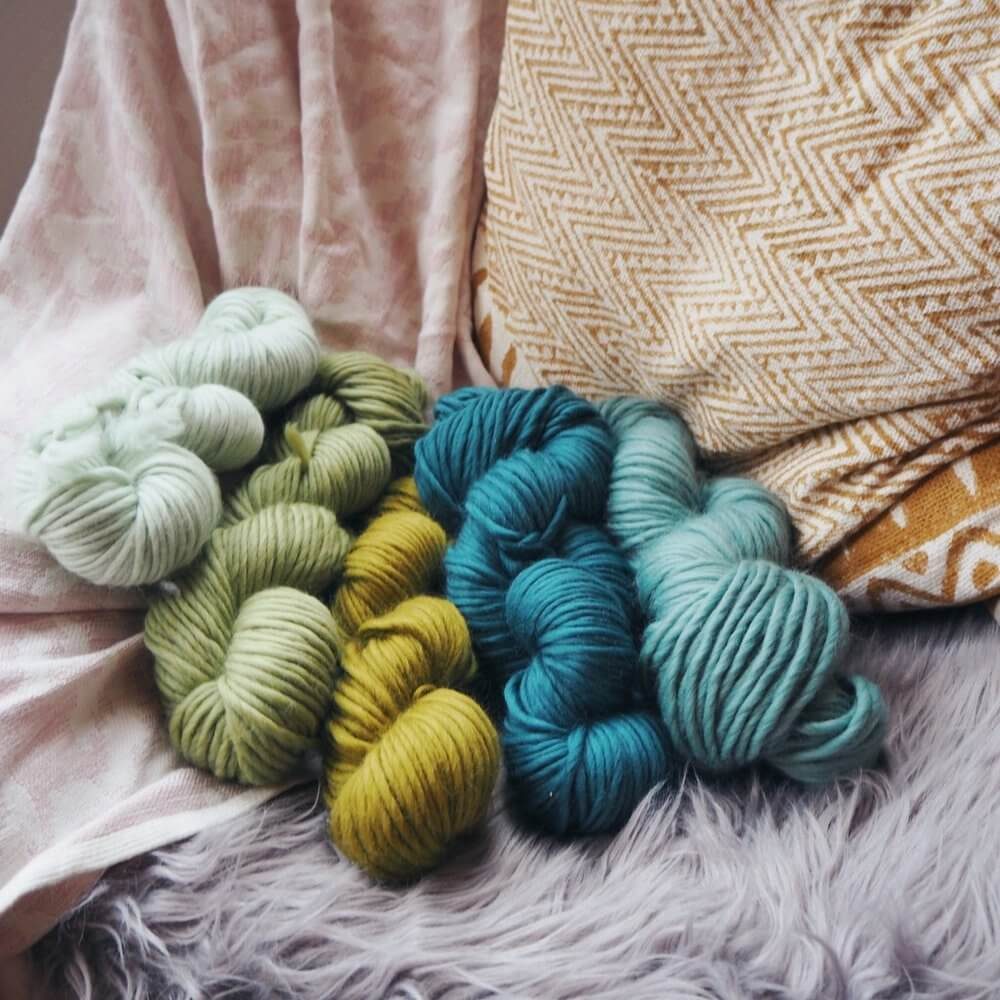 limited edition yarn bundle of 8