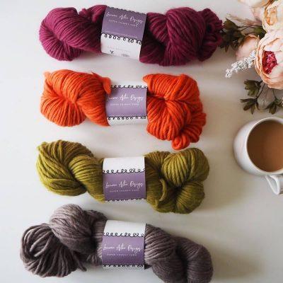 Limited Edition Yarn Bundle of 4