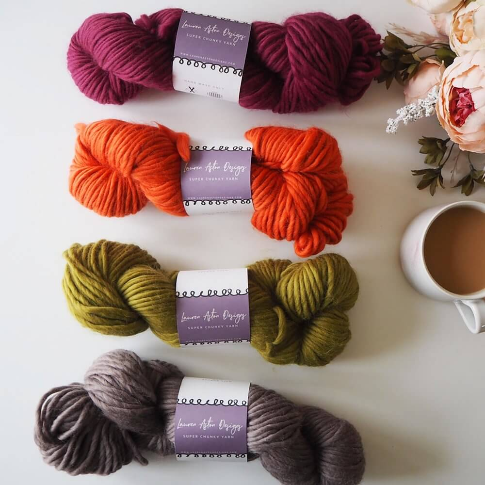 Limited Edition Yarn Bundle of 4