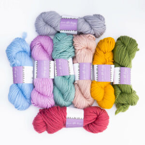 Super Chunky Yarn Bundle of 8