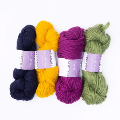 Super Chunky Yarn Bundle of 4