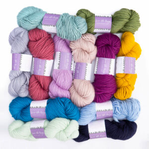 Super Chunky Yarn Bundle of 12