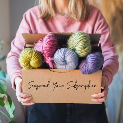 Seasonal Yarn Subscription Box