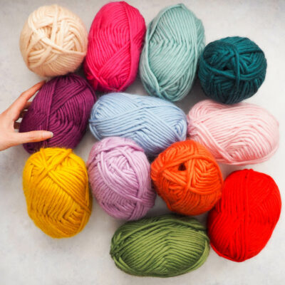 Super Chunky Yarn 100g - Bundle of 12