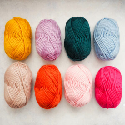Super Chunky Yarn 100g - Bundle of 8