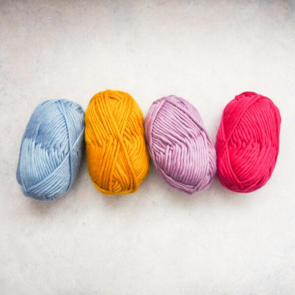 Super Chunky Yarn 100g - Bundle of 4