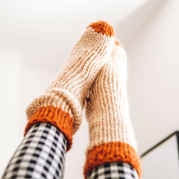Lounge Socks Knit Kit