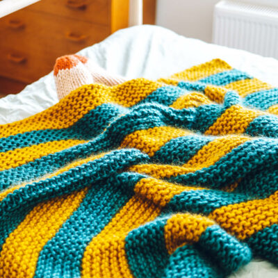 Knit Kit Beginners Blanket