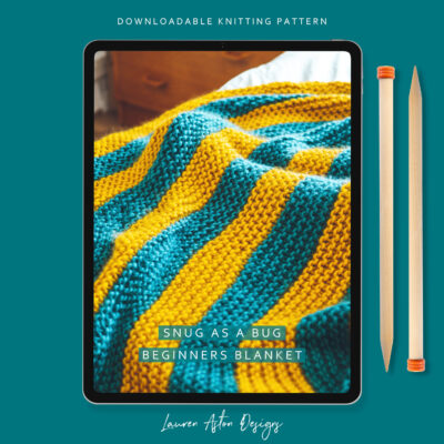 Beginners Blanket Knit Kit