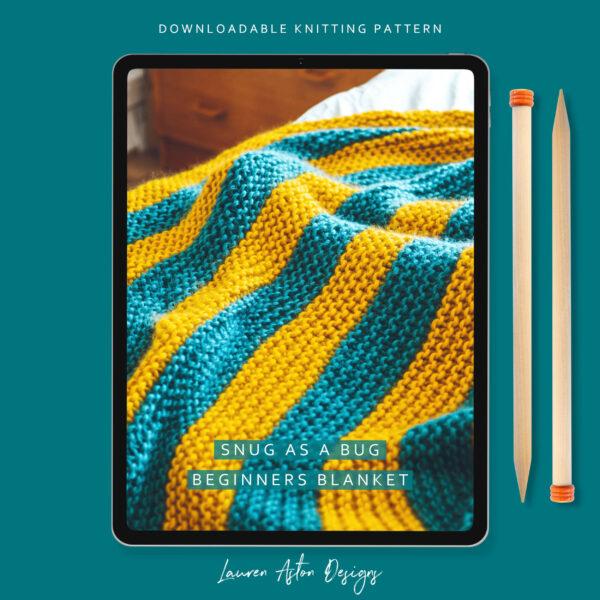 Beginners Blanket Knit Kit