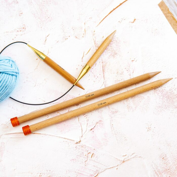 15mm knitting needles