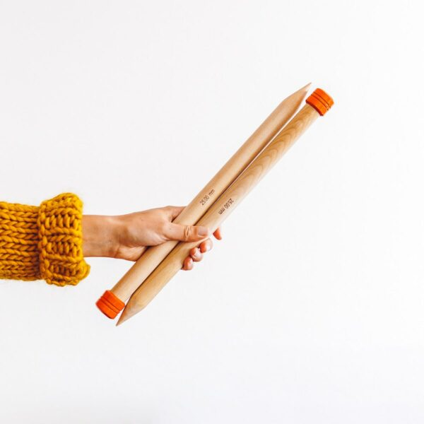 25mm knitting needles
