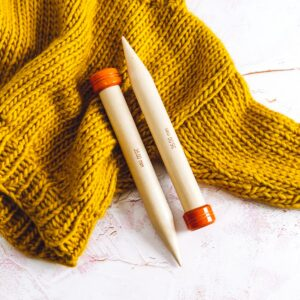 35mm knitting needles