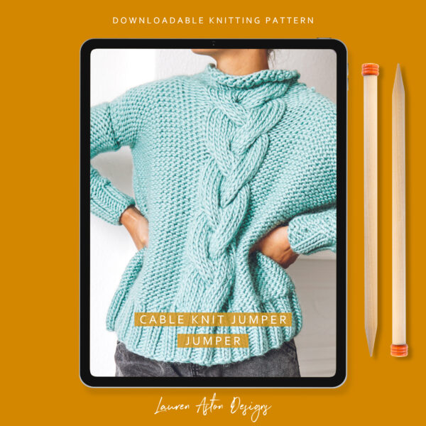 cable knit jumper pattern