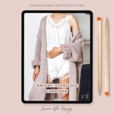 DREAMY OVERSIZED CARDIGAN