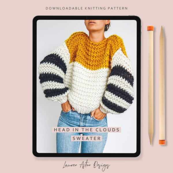 Head in the Clouds Sweater Knitting Pattern