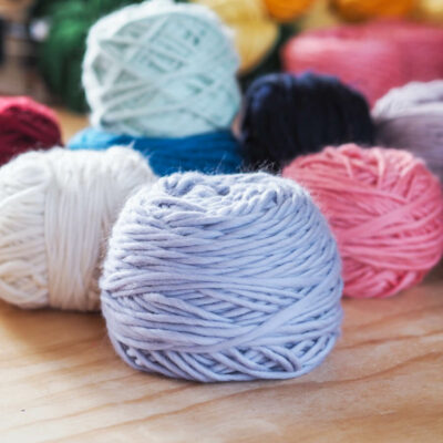 Bodged Balls of merino wool by Lauren Aston Designs