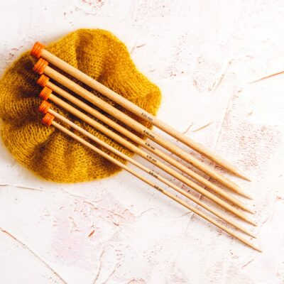 Knitting Needles by Lauren Aston Designs