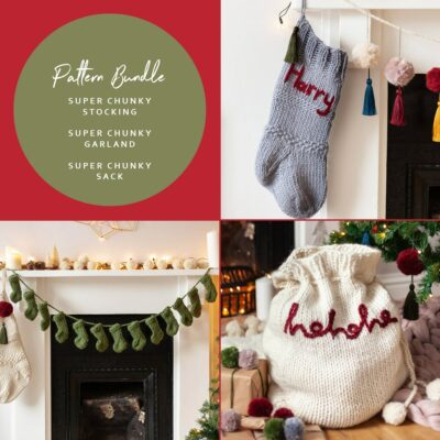 Super Chunky Christmas pattern bundle