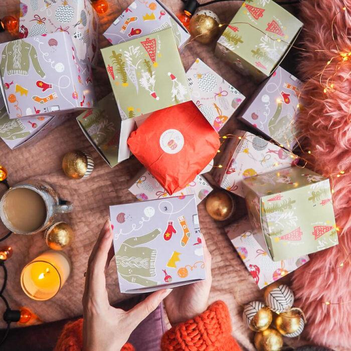 Mini Mohair Advent Calendar