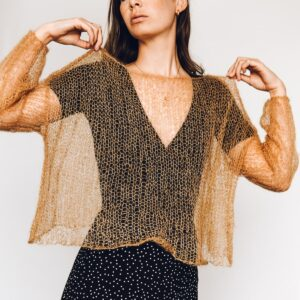 mini mohair jumper