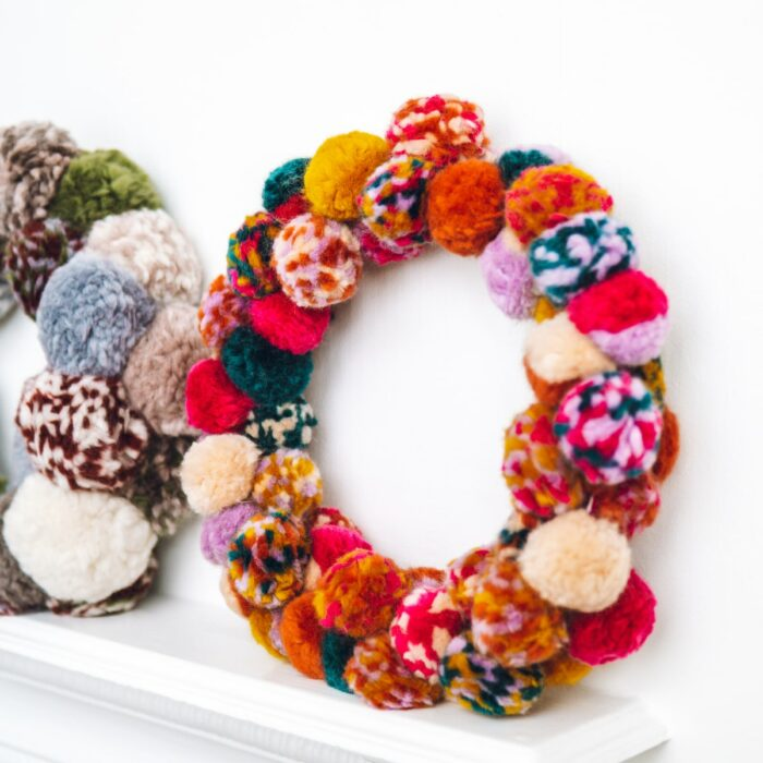 Pompom Wreath Kit