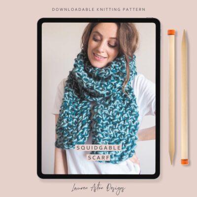 Squidgable scarf pattern