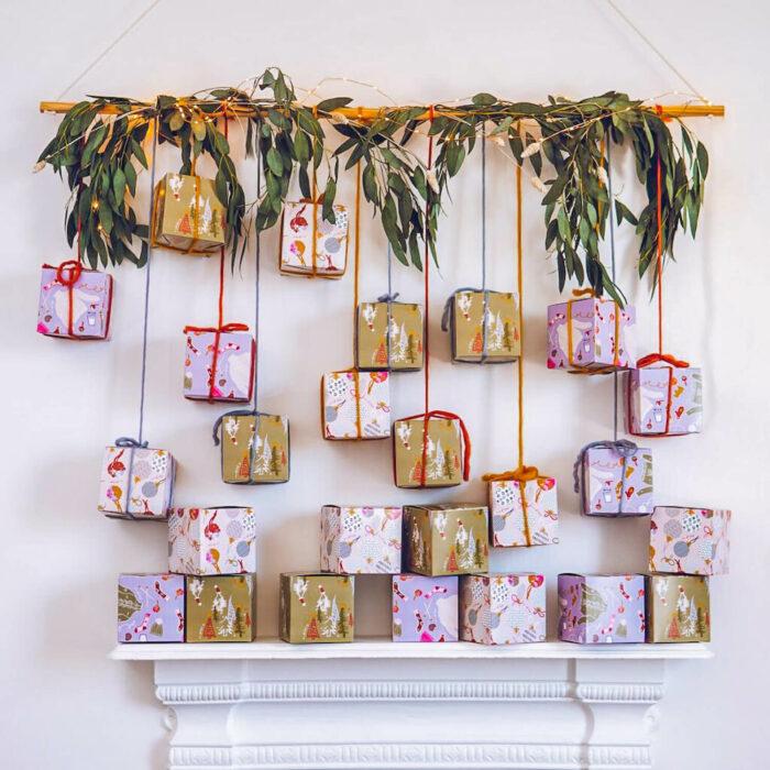 LADvent; Mini Mohair Advent Calendar