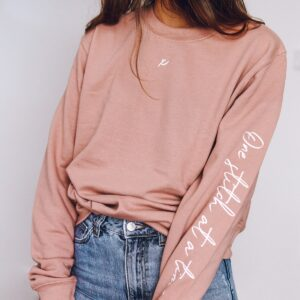 one stitch at a time sweatshirt