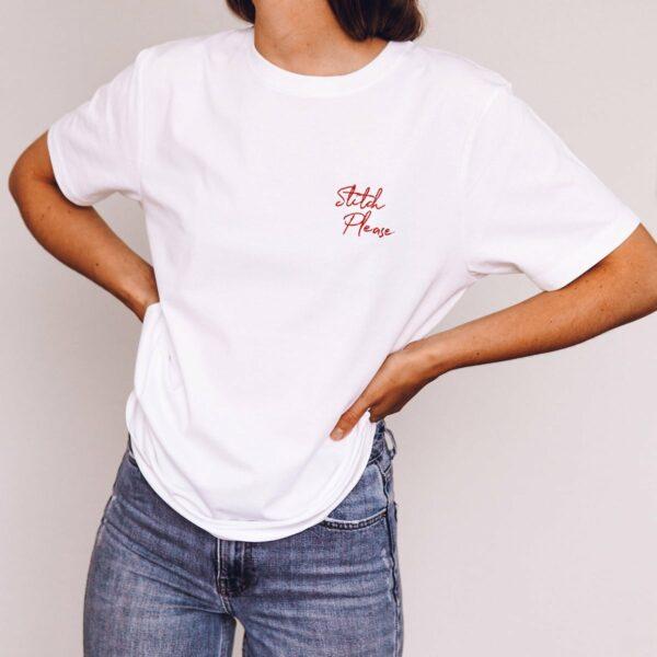 stitch please t-shirt