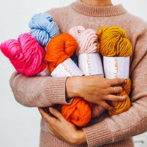 seasonal yarn subscription