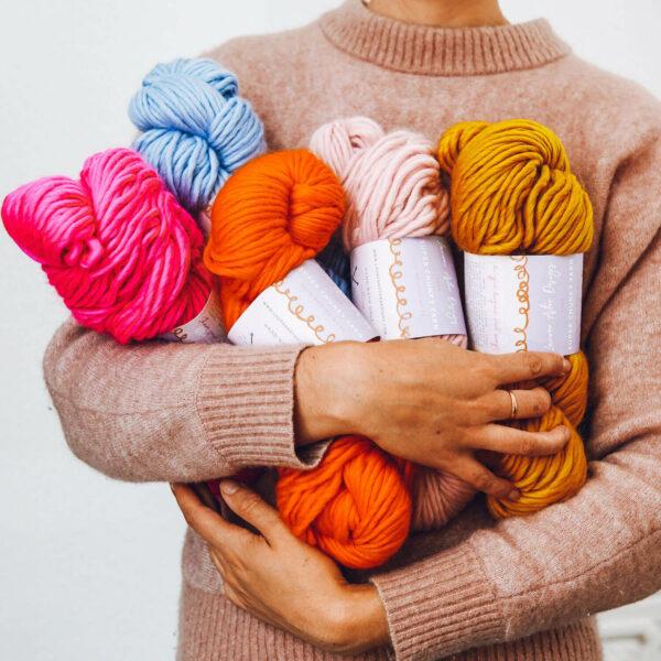 seasonal yarn subscription