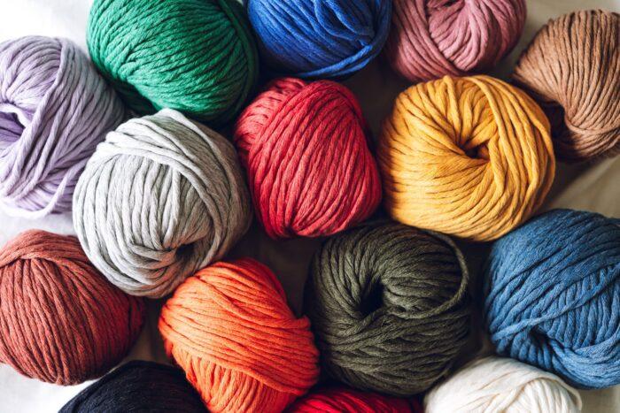 Big cotton yarn