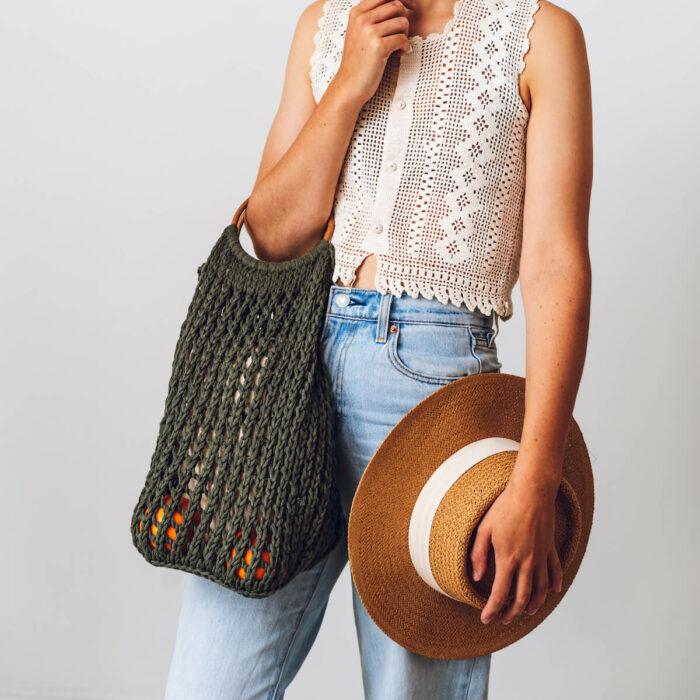 Loop Bag Eco Cotton Yarn