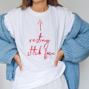 resting stitch face