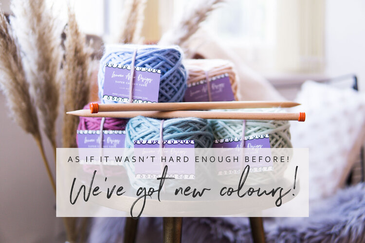 We've got new colours
